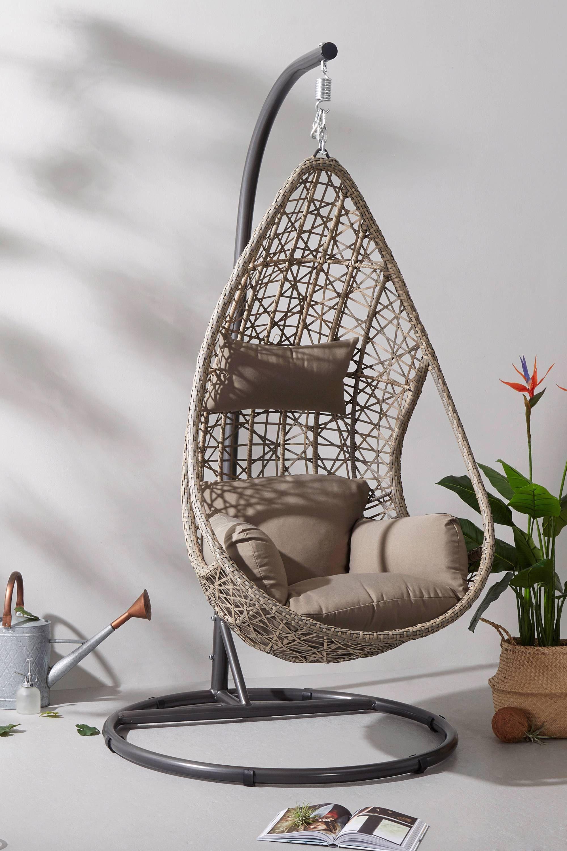 Rotan Hangstoel Wehkamp.Sens Line Hangstoel Mona Relax Hangstoel Hangende Stoelen En Relax