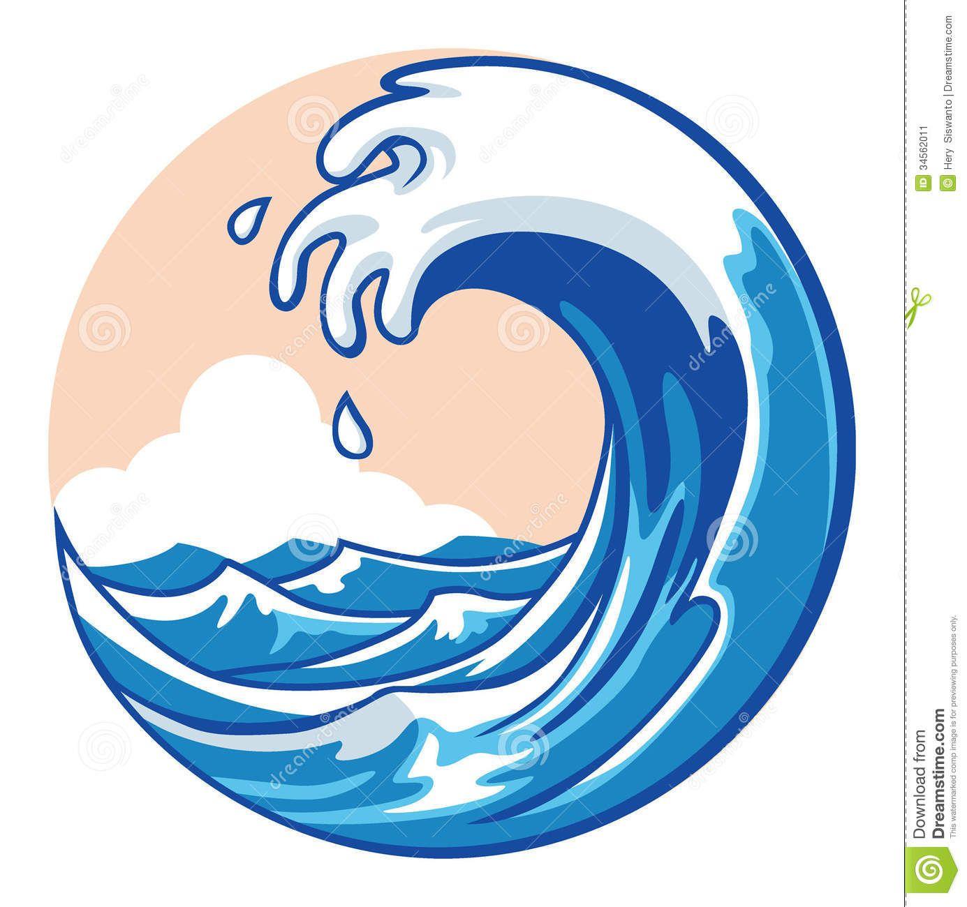 31++ Ocean waves clipart vector ideas
