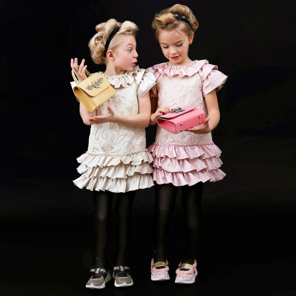 Mi Mi Sol - Girls Pink Handbag (16cm) |