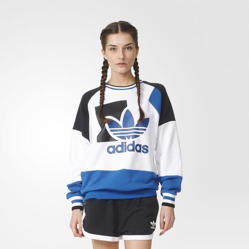 adidas - BUZO ORIGINALS RUN BAGGY MUJER | Adidas mujer ropa ...