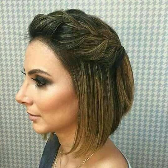 Peinados Para Fiesta Cabello Corto Rizado