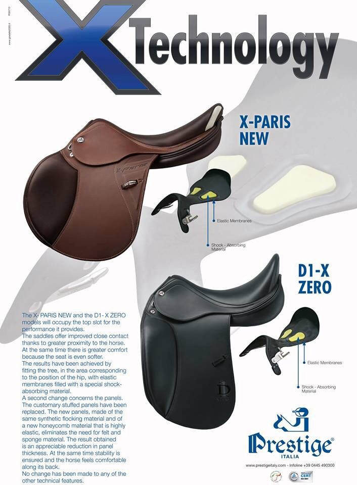 The all new X technology by Prestige Saddles | Saddles by Prestige