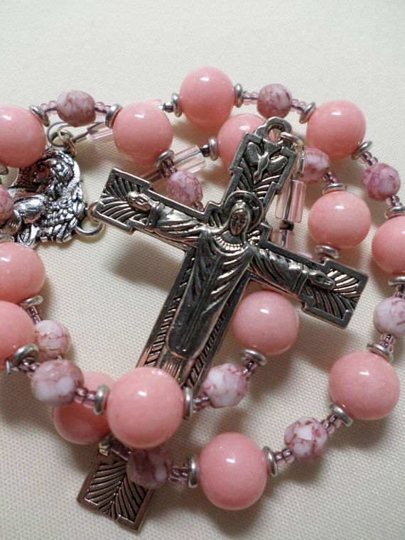 Check out this item in my Etsy shop https://www.etsy.com/listing/246310698/handmade-blessing-against-storms-chaplet