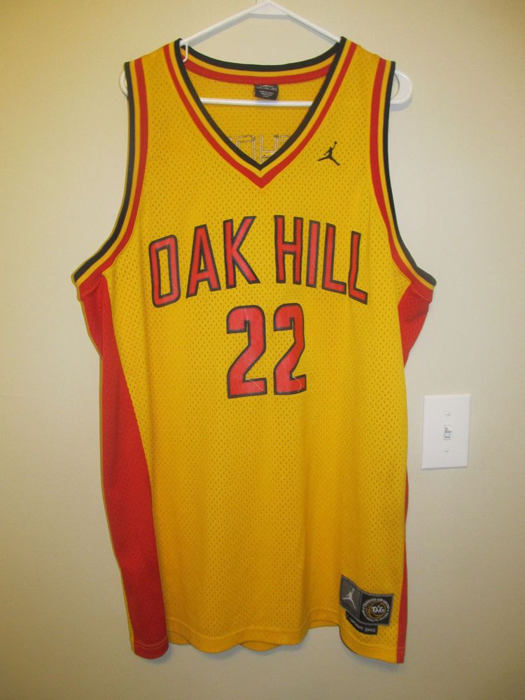 outlet store 2b6d4 026d3 Carmelo Anthony - Oak Hill jersey - Jordan/Nike Adult 2XL ...