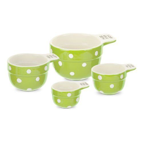 Spode Baking Days Green Measuring Cups Set Of 4 by Spode. $12.79 ...