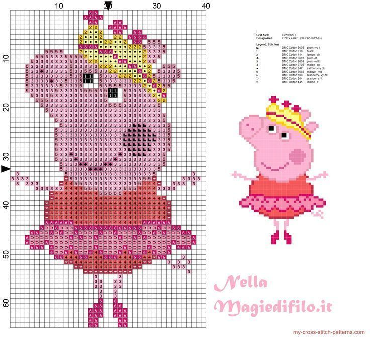 cde6e052b450 Image result for peppa pig jumper knitting pattern free download ...