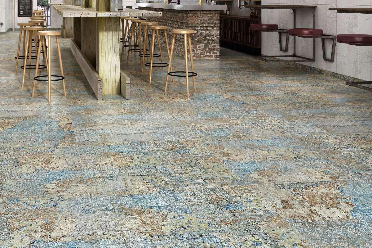 Fliese Ornamente Vintage Teppichoptik Carpet Vestige Natural Verschiedene Zufallige Dekore Fliesen Moderne Fliesen Fliesen Wohnzimmer