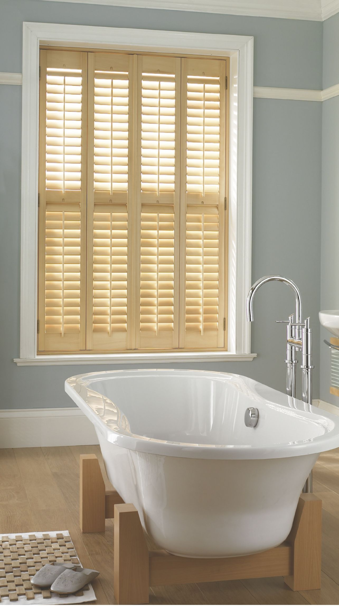 The beauty of using natural-looking Plantation Shutters is that ...