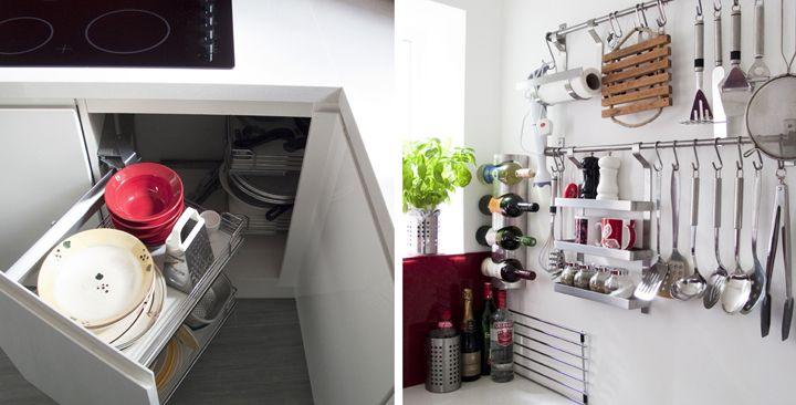 Soluciones de almacenamiento para la cocina   Reformas ingeniosas ...