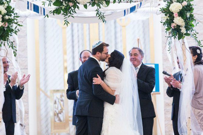 Conservative Jewish Congregational Wedding Chuppah Kiss Jewish Wedding Chuppah Wedding Chuppah Jewish Wedding