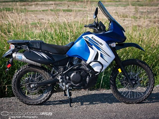 2012 Kawasaki Klr650 Project Bike Adventure Bike Bike Motorcycle Usa