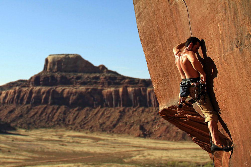 Hayden Dudley, Slice and Dice (5.12), Indian Creek, Utah