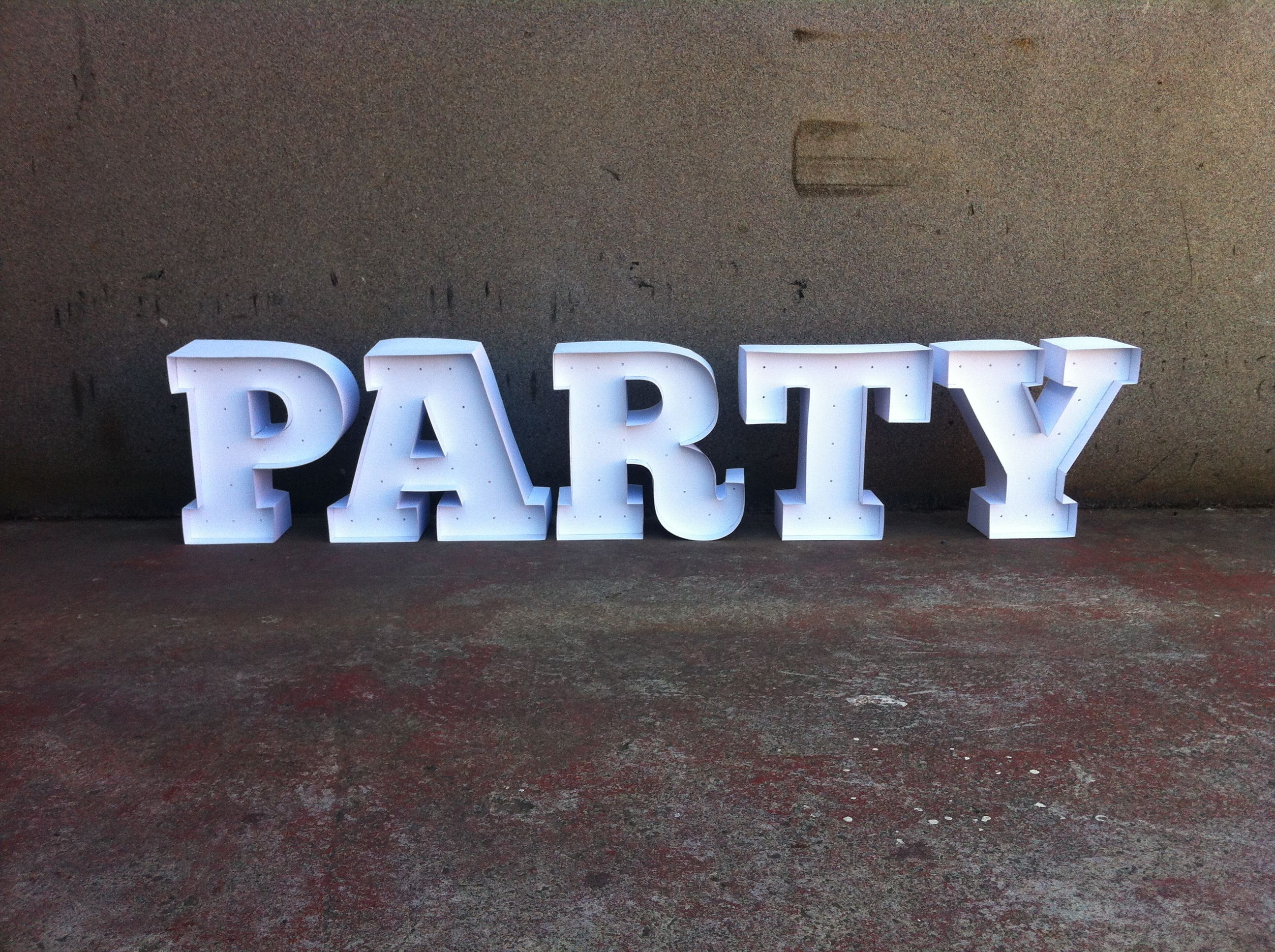 3d Letters Hand Made From Foamboard And Pasteboard Type Treatments Foam Board Diy Crafts