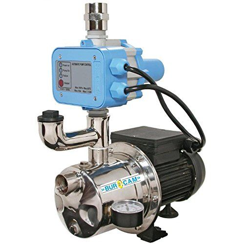 Burcam 506532ss Water Pressure Booster Pump Sump Pumps Amazon Com Well Jet Pump Shallow Well Jet Pump Well Pump