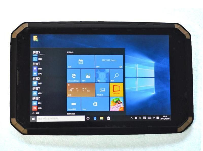 Rugged Windows 10 Home Tablet Pc Waterproof Shockproof Handheld Mobile Phone Ip68 8 Screen Intel Quad Core 2g Ram Gps 3g Min Tablet Rugged Tablet Mobile Phone