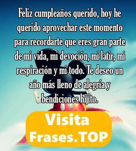 Feliz Cumpleaños Hijo Frases Mensajes Felicitaciones Frases De Feliz Cumpleaños Mensaje De Feliz Cumpleaños Dedicatorias De Feliz Cumpleaños