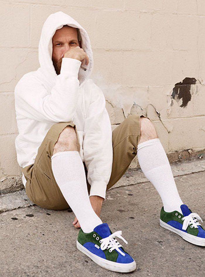 82803591e0cf9 Comment porter la chaussette haute pour homme | Mode | Chaussettes ...