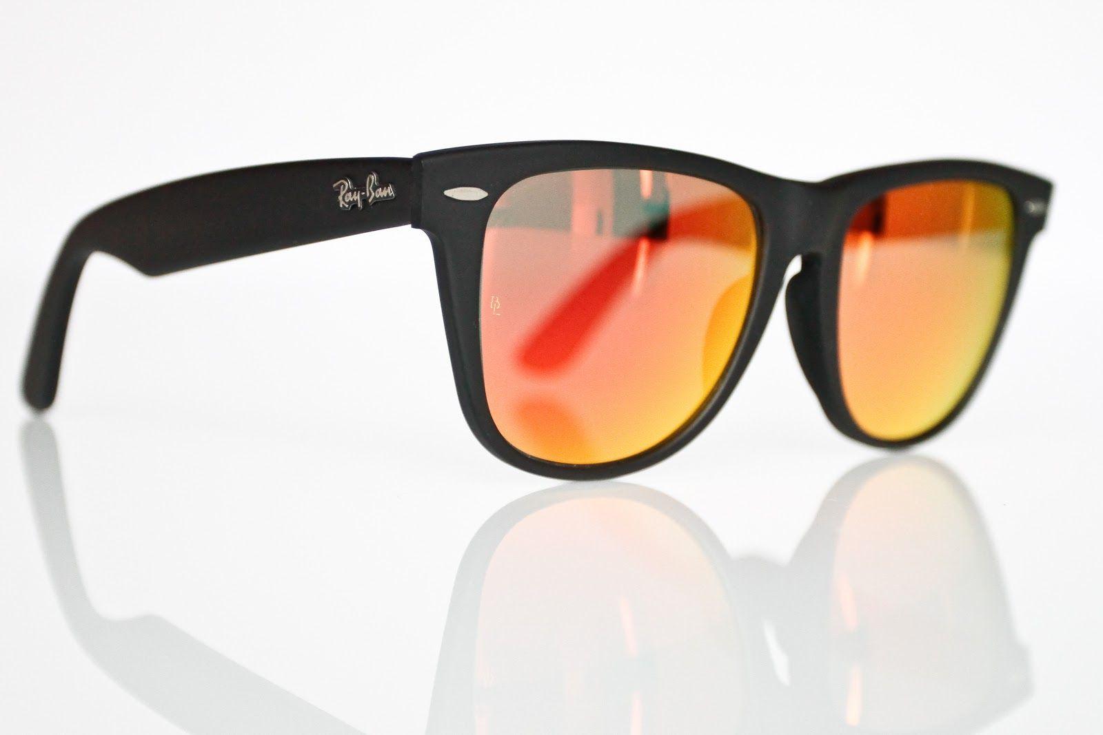 ray ban wayfarer mirrored lenses