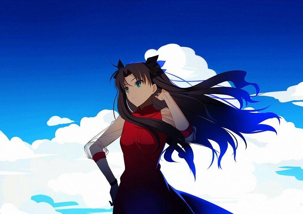Fate Stay Night Zero Dakimakura Rin Tohsaka Anime Girl Hugging Body Pillow Case