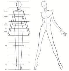 fashion figure template - Google Search | Bunheads Assemble ...