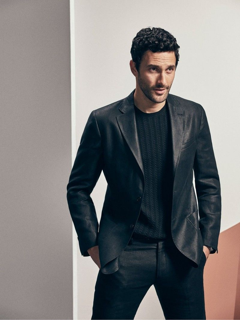 604da65733 Noah Mills for Massimo Dutti Limited Edition SS 2017 Semi Casual, Linen Suit,  Noah