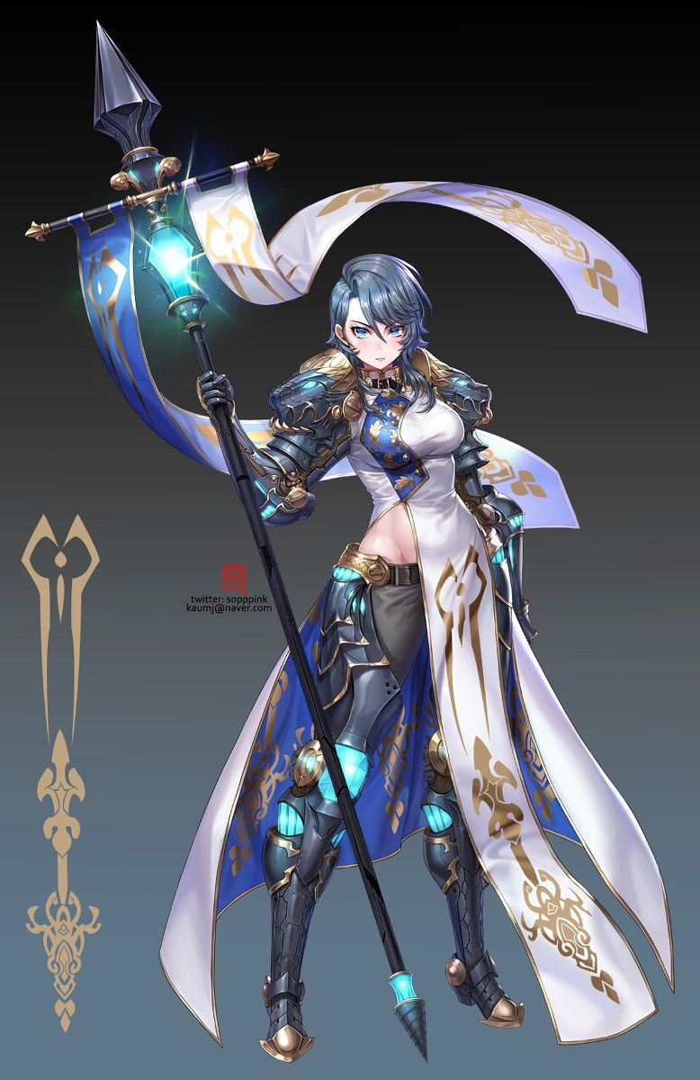 Pin By Thibaut Villefranque On Art Concept Art Characters Female Knight Anime Knight