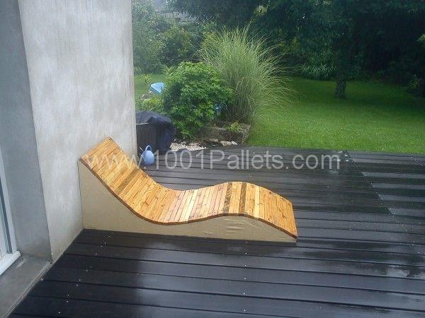 DSC00158 600x450 Design Pallet Garden seats in pallet garden pallet furniture  with Seat Pallets Lounge Bench