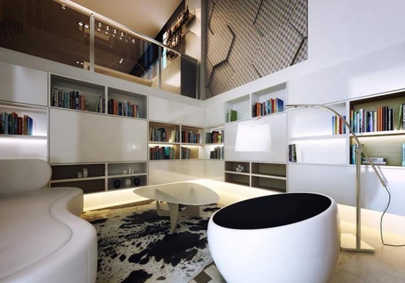 Considérez,vous chanceux si vous possédez une maison avec un très haut  plafond. Pour sa décoration, nous avons rassemblé quelques idées et  quelques astuces