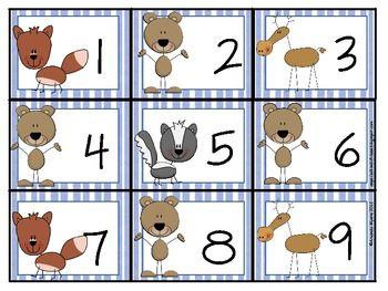 15+ Classroom Animals Calendar Numbers Clipart