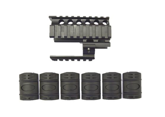 MICRO DRACO QUAD RAIL WITH (6) COVERS, Texas Shooters Supply