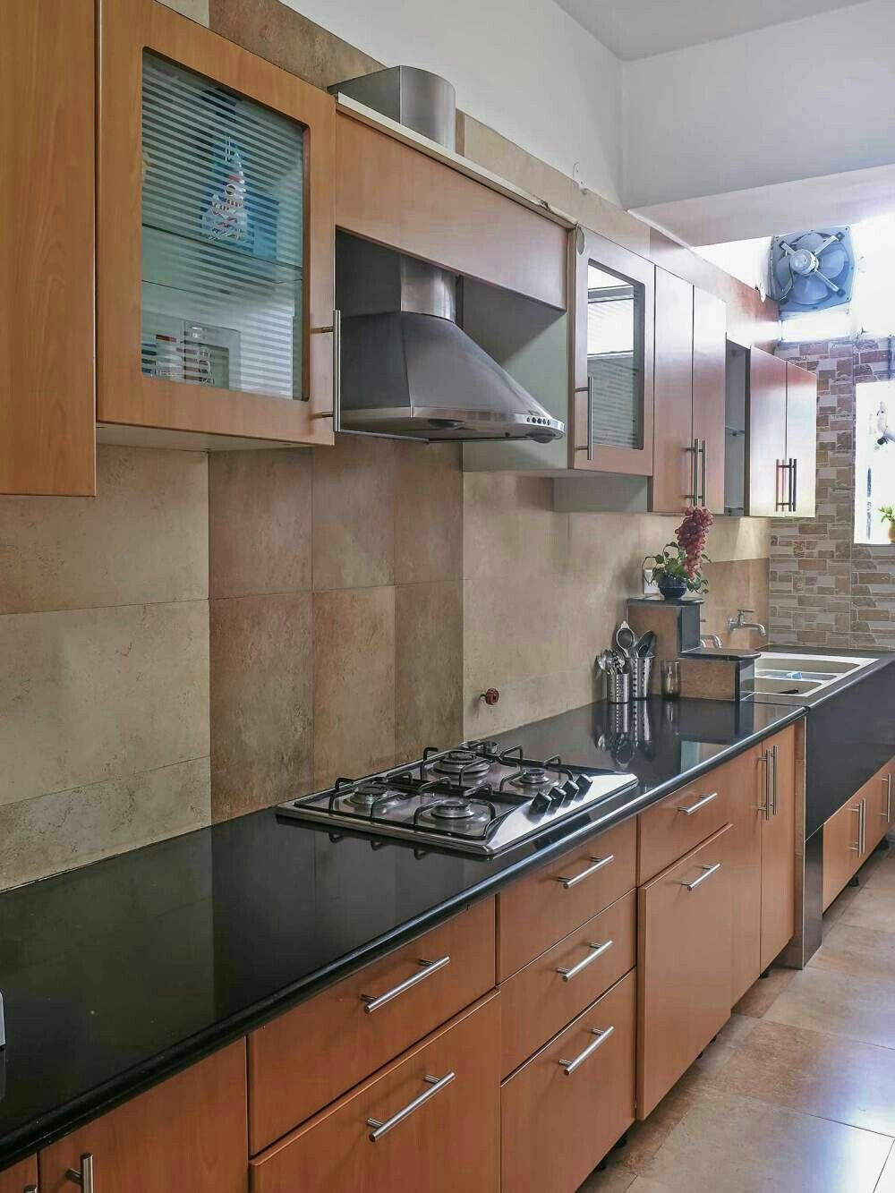 Parallel Kitchen Design India  Google Search  Kitchen Pleasing Home Kitchen Design India Decorating Inspiration