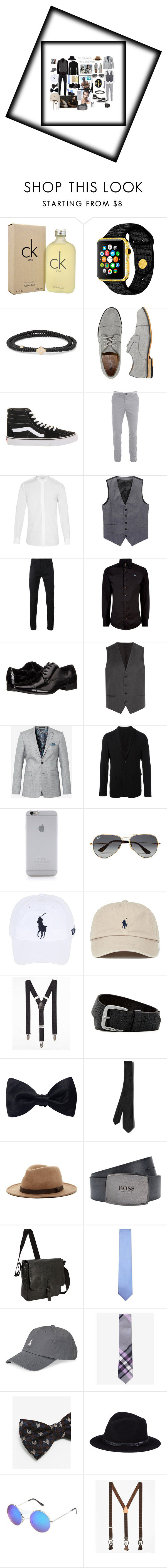 """Untitled #192"" by mommacarter ❤ liked on Polyvore featuring Calvin Klein, Luis Morais, X-Ray, Vans, Yves Saint Laurent, Haider Ackermann, Vivienne Westwood, HUGO, Ted Baker and Emporio Armani"