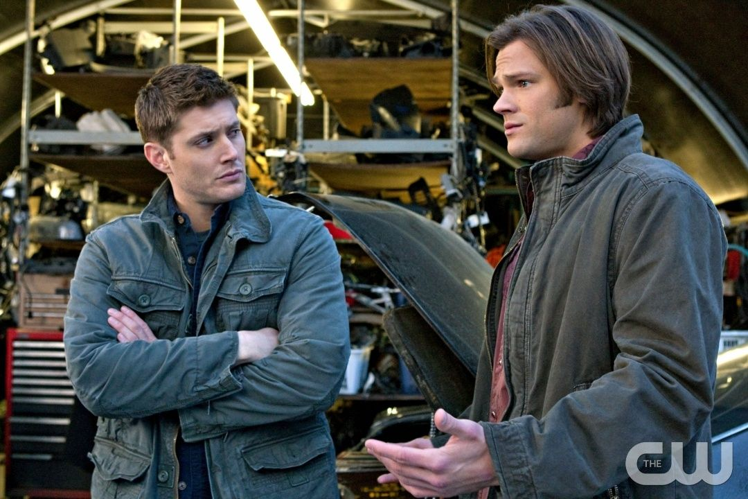 """""""Two Minutes to Midnight"""" - Jensen Ackles as Dean, Jared Padalecki as Sam in SUPERNATURAL on The CW. Photo: Jack Rowand/The CW �2010 The CW Network, LLC. All Rights Reserved.pn"""