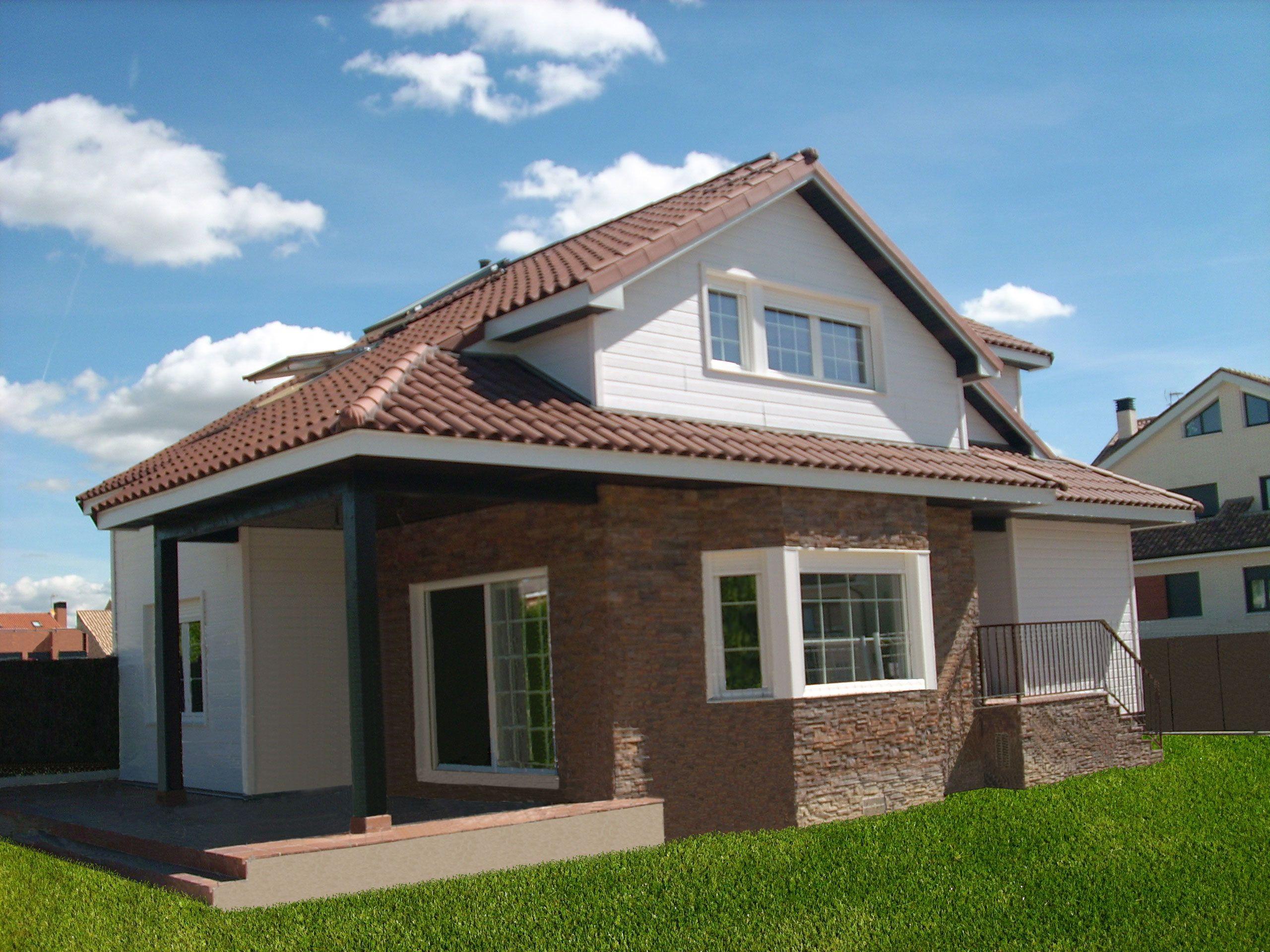 Casa canadiense casa canadiense pinterest casas - Casas rurales prefabricadas ...
