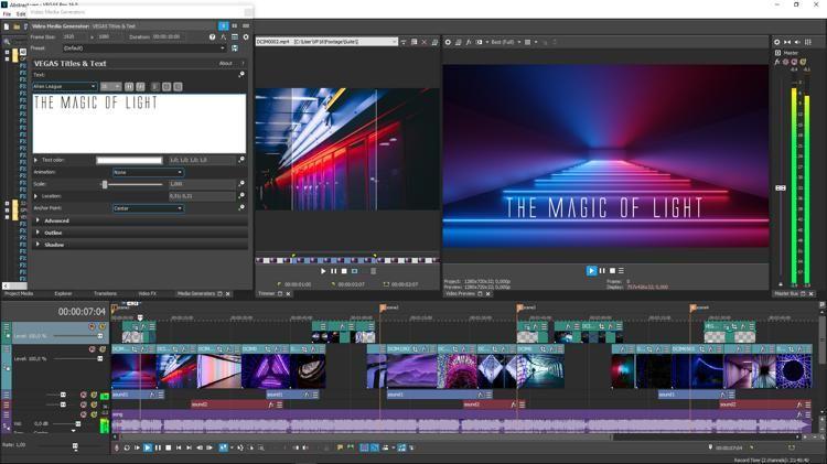 Magix Vegas Pro 16 Suite (download)   Software   Software, Video