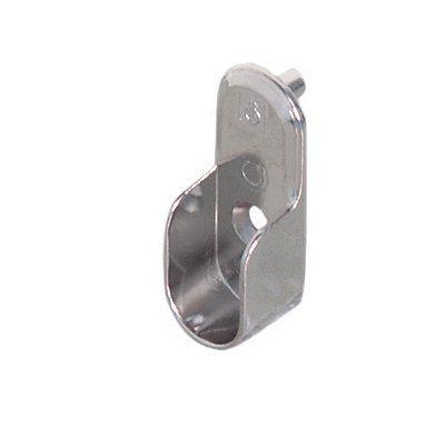 Hafele 803.3 Oval Wardrobe Rail Support Closet Rod Bracket Oval Wardrobe  Rail SupportFor Insertion In 32mm