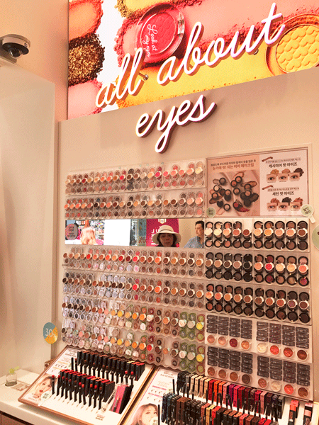 A Tour of the Etude House Color Factory in Seoul | Makeup Ideas