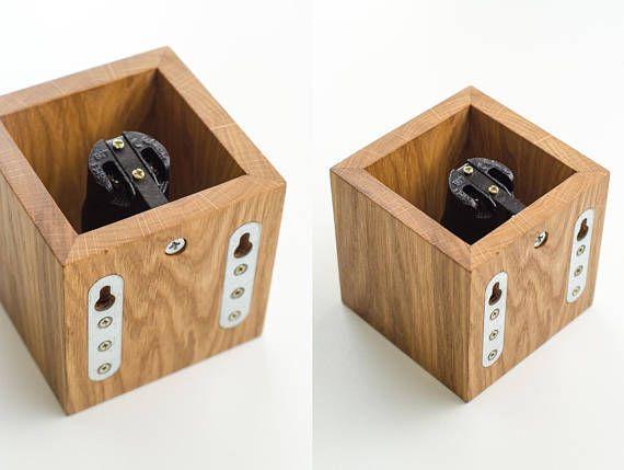 Wandleuchte aus Holz Q 124 handgefertigt. Wandleuchte.