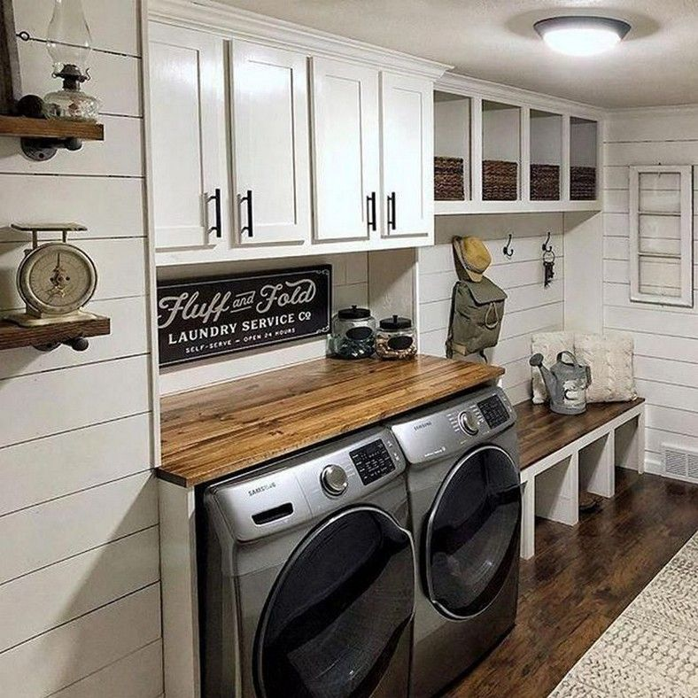 Photo of 57 creative basement laundry room ideas for your home 18 | mitakerja.com