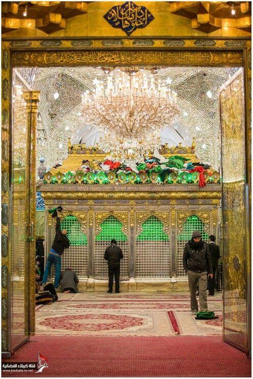 Maula Ali Shrine Wallpaper: Beautiful Heaven On Earth Karbala Imam Hussain A.s ♥