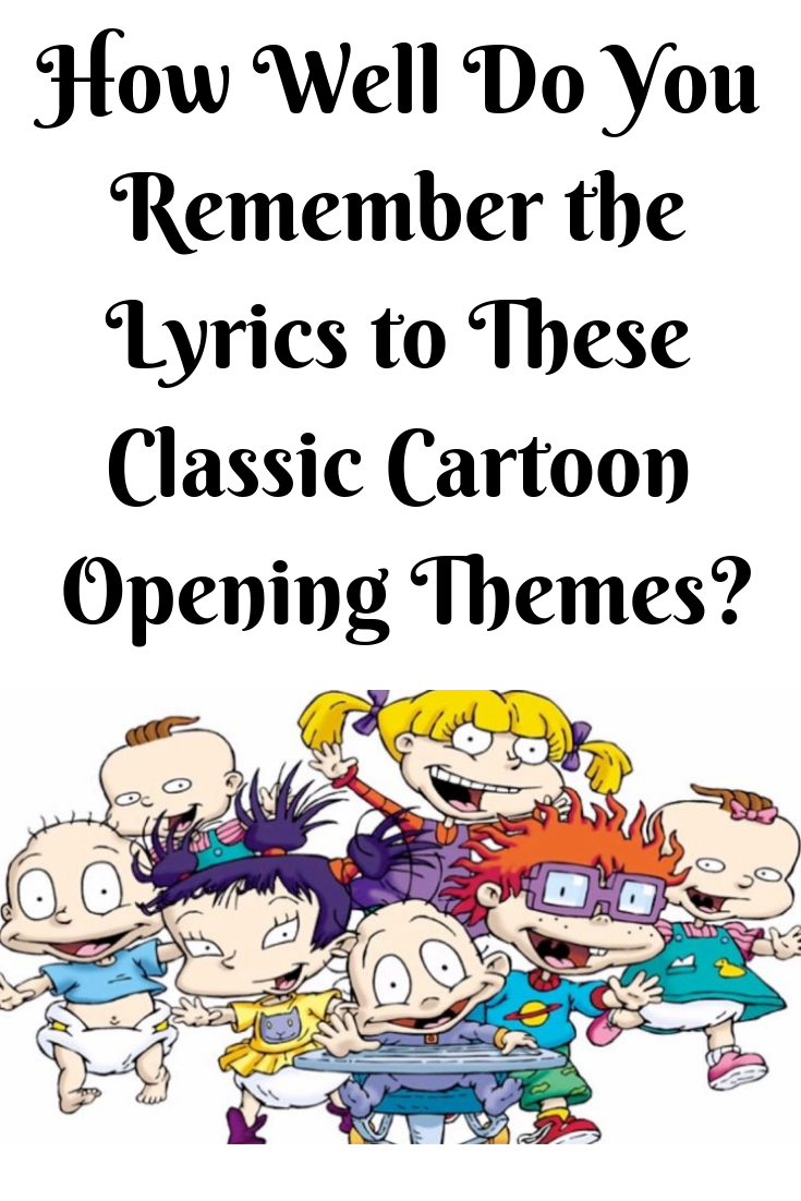 Rugrats Theme Song Lyrics : rugrats, theme, lyrics, Saturday, Mornings