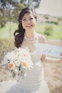 """""""mug shot"""" signs for bridal party"""