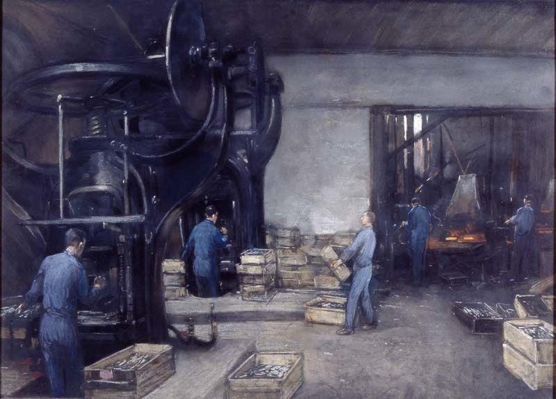 Interieur bestekfabriek   Heijenbrock