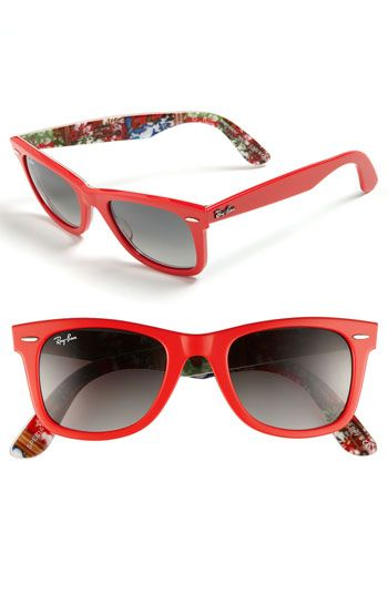 343c667826 Ray-Ban  Classic Wayfarer  Floral Sunglasses  FlowerShop -- Perfect for  Spring!