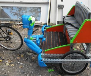 c654addb287 How to Build Your Own Pedicab   Pedal Power   Trailer diy, Pocket ...
