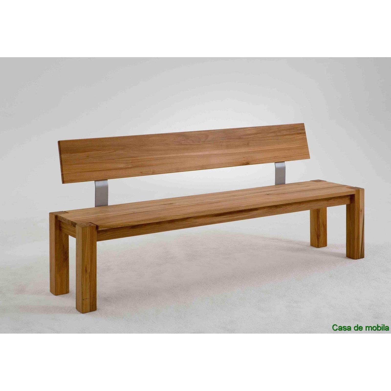 Tolle sitzbank massivholz mit lehne   Sitzbank esszimmer ...