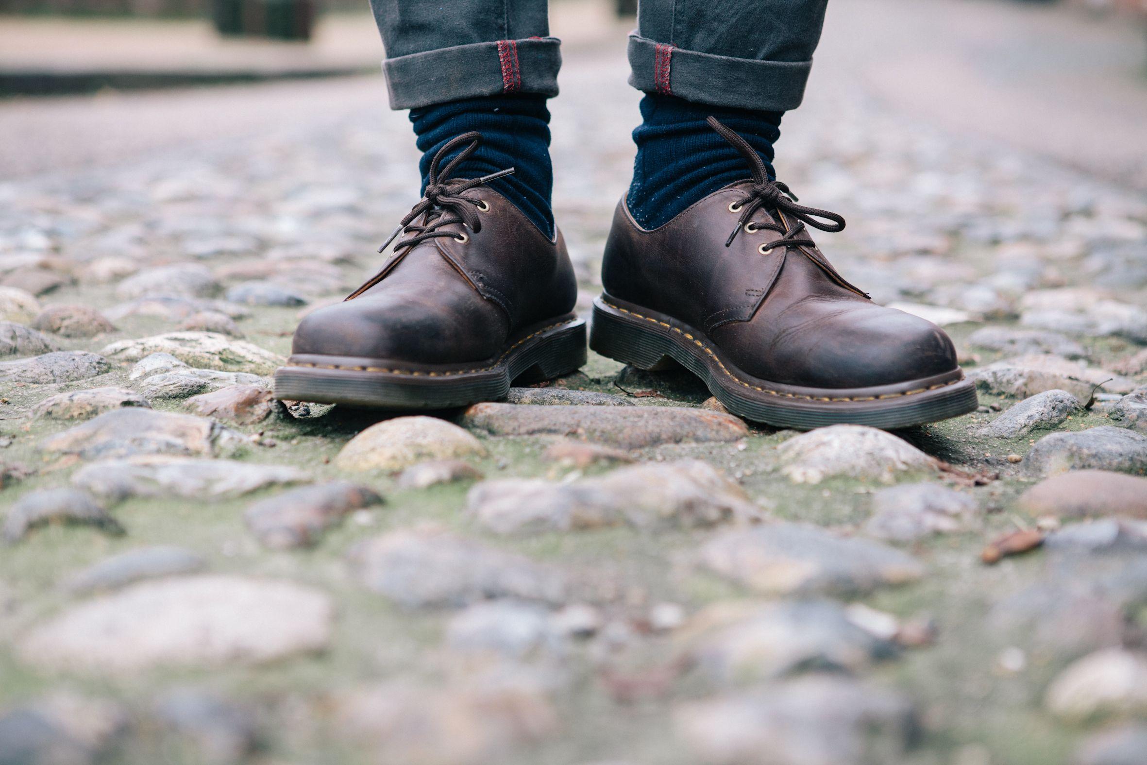 f963771d7b8 Dr martens 1461 crazy horse | Shoes | Martens style, Dr martens, Shoes