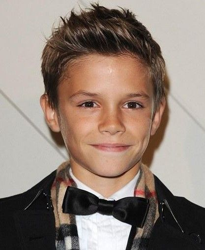 Romeo Beckham Boy Hairstyles Boys Haircuts Boy