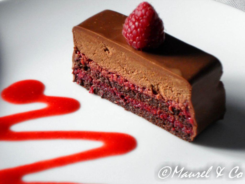 Le Triptyque Chocolat Framboise Chocolat Framboise Gateau Anniversaire Chocolat Gateaux Et Desserts