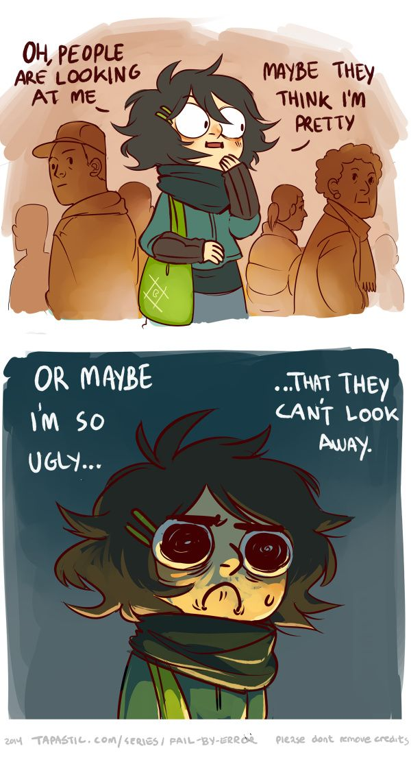 Public doubts - every time I go outside xD